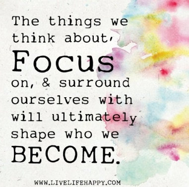 focus on becoming